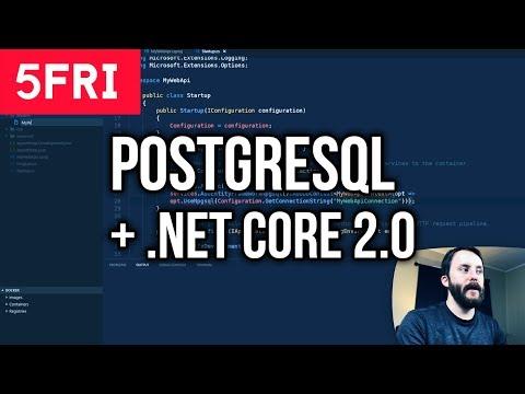 Using PostgreSQL with .NET Core 2.0