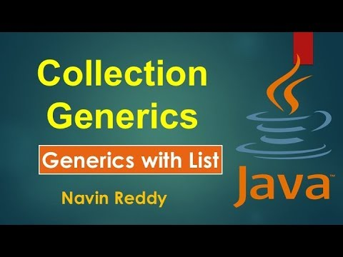 #11.3 Collection and Generics | Generics with List