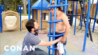 Watch Charlie Day Yank Off Danny Devito S Undies