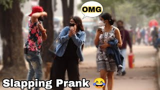 Slapping Prank On Cute Girl's - Epic Reactions  2021 Pranks In India  By TCI