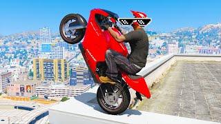 GTA 5 AMAZING Skills #5 (GTA 5 Epic, Stunts, Fails, Wins, Jumping, Thug life)