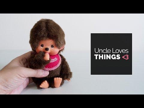 Lovely Monchhichi Stuffed Toy (Sekiguchi, Japan)