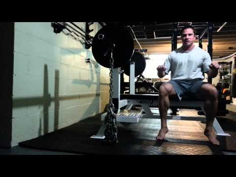 When and how to use chains for raw benching (benching with chains)