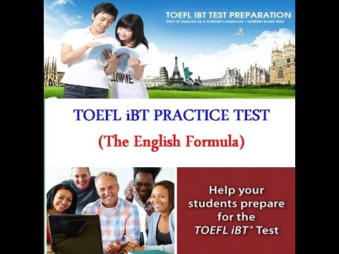 TOEFL SPEAKING Practice Test 1 - The Complete Guide