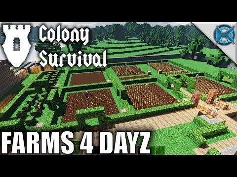 Farms 4 DAYZ | Colony Survival | Let's Play Colony Survival Gameplay | S01E08