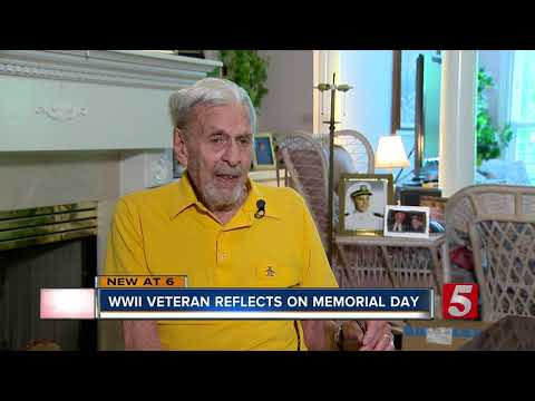 WWII Veteran Reflects On Memorial Day
