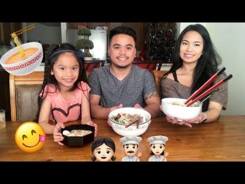 CHICKEN PHO MUKBANG | Vietnamese Soup Pho Ga