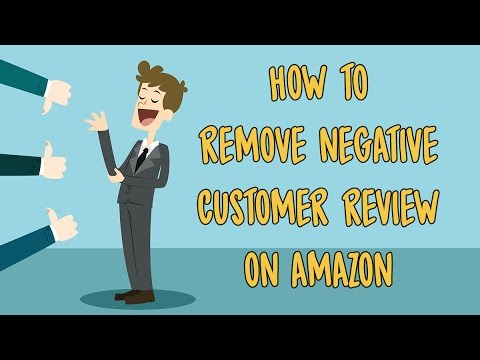 How to remove negative feedback for amazon
