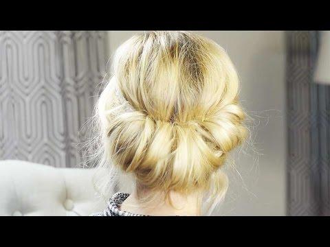 How To - Vintage Rolled Hair Tutorial| Milabu