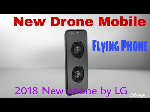The All New Drone Mobile BY LG ||Amazing technology video