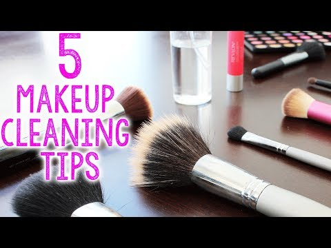 HOW TO: Clean Makeup Brushes, Palettes and Lipsticks