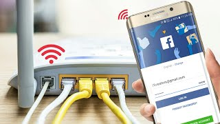 WiFi FREE Gives Facebook You Can Connect Without Password 😮 NEW TECHNOLOGY