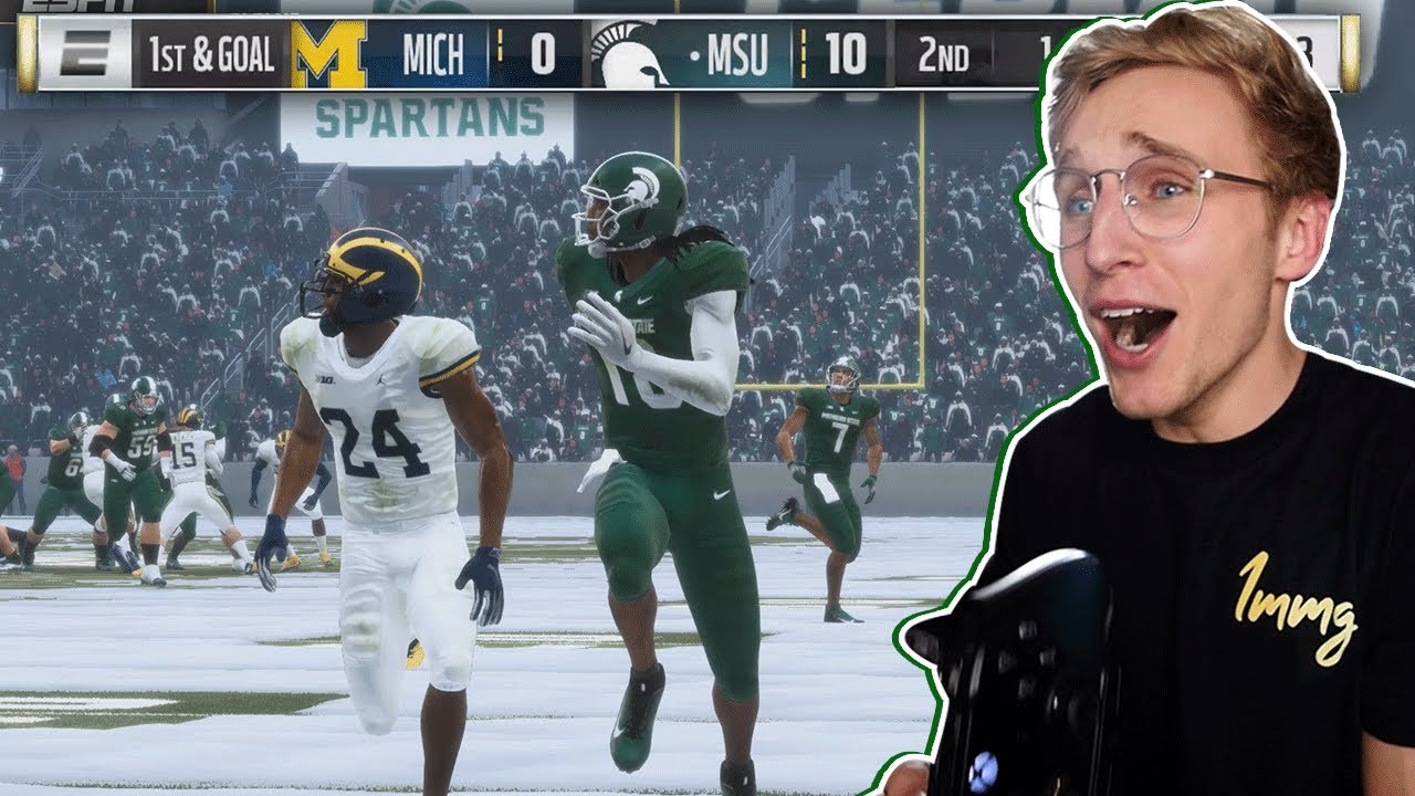 This Mod Let Me Play My DREAM College Football Game...