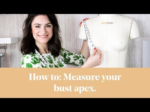 How To: Measure YOUR Bust Apex and Position on a Pattern