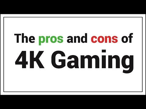 The Pros And Cons Of 4K Gaming