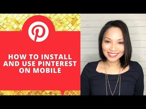 How to use Pinterest App - How to use Pinterest for beginners