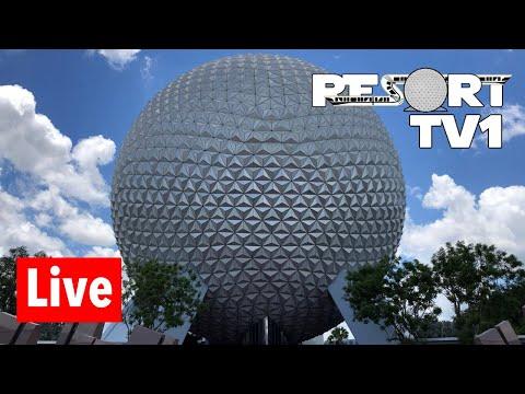🔴 Epcot Live Stream - 6-15-18 - Walt Disney World