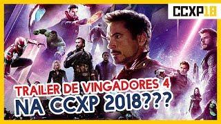 TRAILER DE VINGADORES 4 ULTIMATO NA COMIC CON EXPERIENCE?!