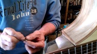 How To Install Your Guitar Strap Button.