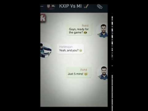 Ipl funny chat on WhatsApp