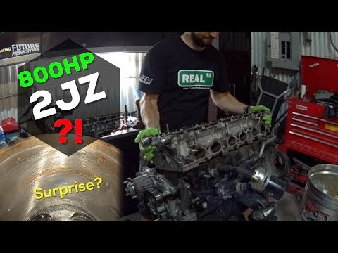 TEARING APART THE SUPRA'S ENGINE - 800hp 2JZ?