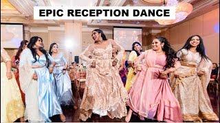 EPIC TAMIL WEDDING DANCE | TAMIL RECEPTION DANCE 2019