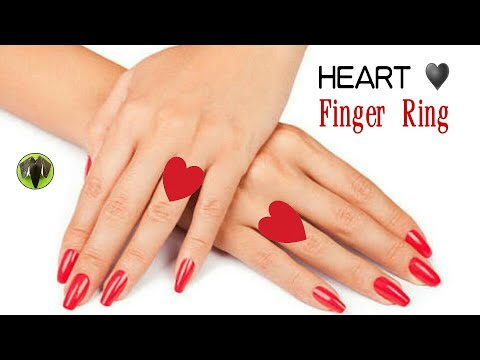 Heart | Love Finger Ring - DIY Origami Tutorial by Paper Folds - 812