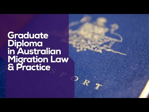 ACU I Graduate Diploma in Australian Migration Law and Practice