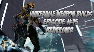 Warframe Redeemer with bullet dance