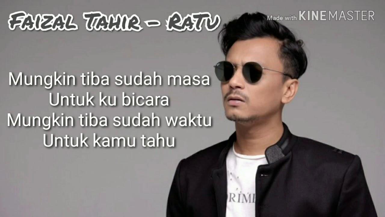Download FAIZAL TAHIR - RATU (LIRIK VIDEO) MP3 Gratis