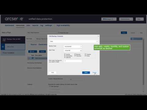 How to Protect UNC Path (CIFS) using Arcserve UDP