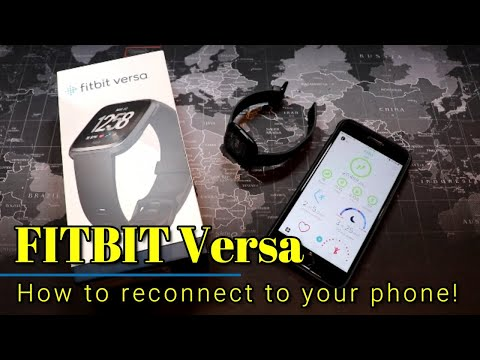 Fitbit Versa: How to reconnect it to your phone (or how to reset the watch).