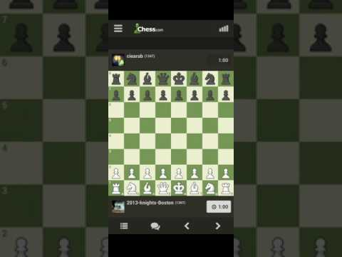 Playing chess on chess.com app