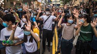 【7/1 重播】堅持五大訴求 反抗國安惡法 71維園大遊行