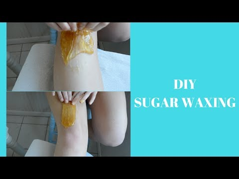 DIY SUGAR WAX- DOES IT WORK???