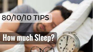 How Much Sleep Do We Need On Raw Food Diet?