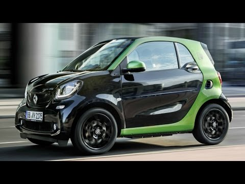 2016 Smart Fortwo Electric Drive Coupe - Drive and Design