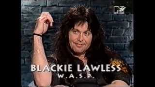 Interview With Blackie Lawless On MTV Most Wanted 1992