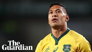 'Israel left us with no choice' : Folau sacked by Rugby Australia– video