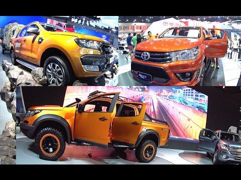 TOP 3 best deal SUVs 2016, 2017 Ford Ranger Wildtrak, Toyota Hilux Revo, Chevrolet Colorado Xtreme