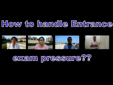 How to handle exam pressure / How to deal with entrance exam stress ? - Ask Exam Toppers