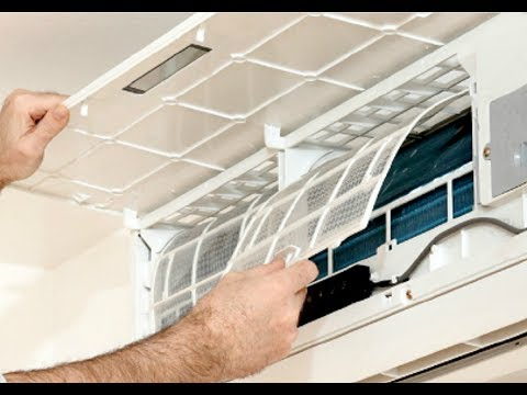 How to clean Split AC Filters ( DIY)