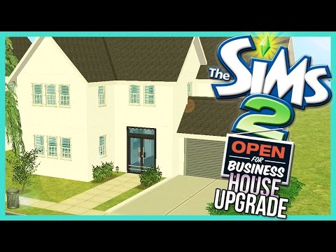 The Sims 2 | Open For Business S2 - House Upgrade Speed Build