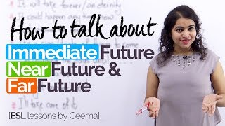 How to speak in English about the future? Advanced English Speaking practice lesson
