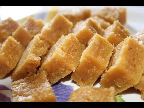 Mysore Pak || Home Made Mysore Pak Recipe || ROOPA TV