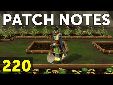 RuneScape Patch Notes #220 - 21st May 2018