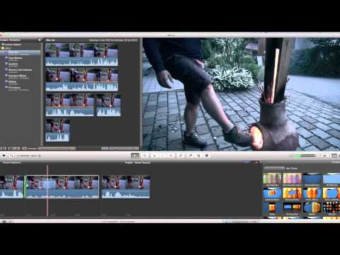iMovie 11 Slowmotion Tutorial how to create a action movie