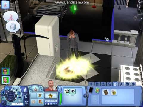 The Sims 3 - The Death Flower Location.