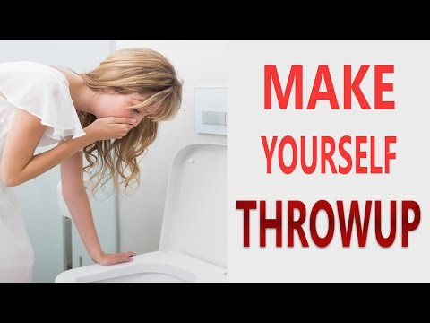 Top 12 Ways To Make Yourself Throw Up Easily | How to Make Yourself Throw Up