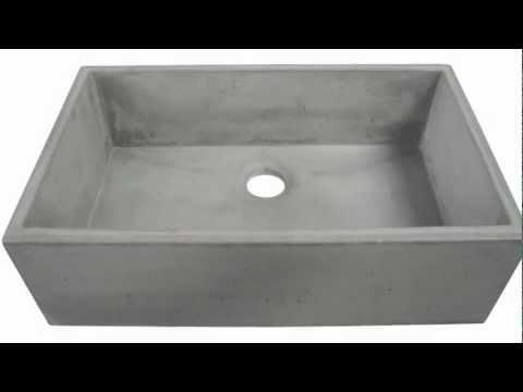 Concrete Farm Sink ABC3219-CO